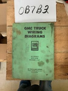 1967 GMC (BUILT AFTER DECEMBER 1,1967) ORIGINAL WIRING ...