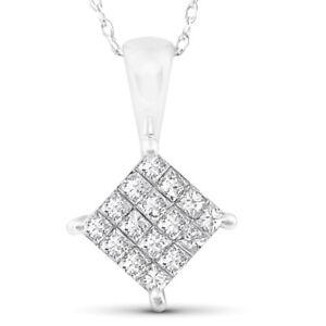 1-2-cttw-Princess-Cut-Pave-Diamond-Halo-Pendant-10K-White-Gold-5-8-034-Tall