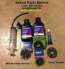 Range Rover Sport 4.2 liter Eaton M112 Supercharger Bearings Rebuild Kit nose