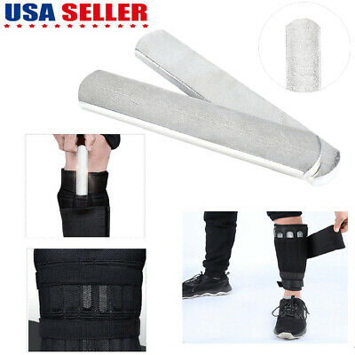 4pc//lot steel plates for adjusted weight vest carriers and leg shin guards speci