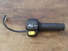 DERDI  GPR50R  RIGHT HAND SWITCHGEAR AND THROTTLE GRIP