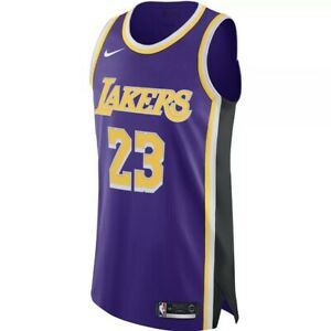 Details about Nike Mens LeBron James Lakers Statement Edition Jersey AJ5197-505 Size 40 Small