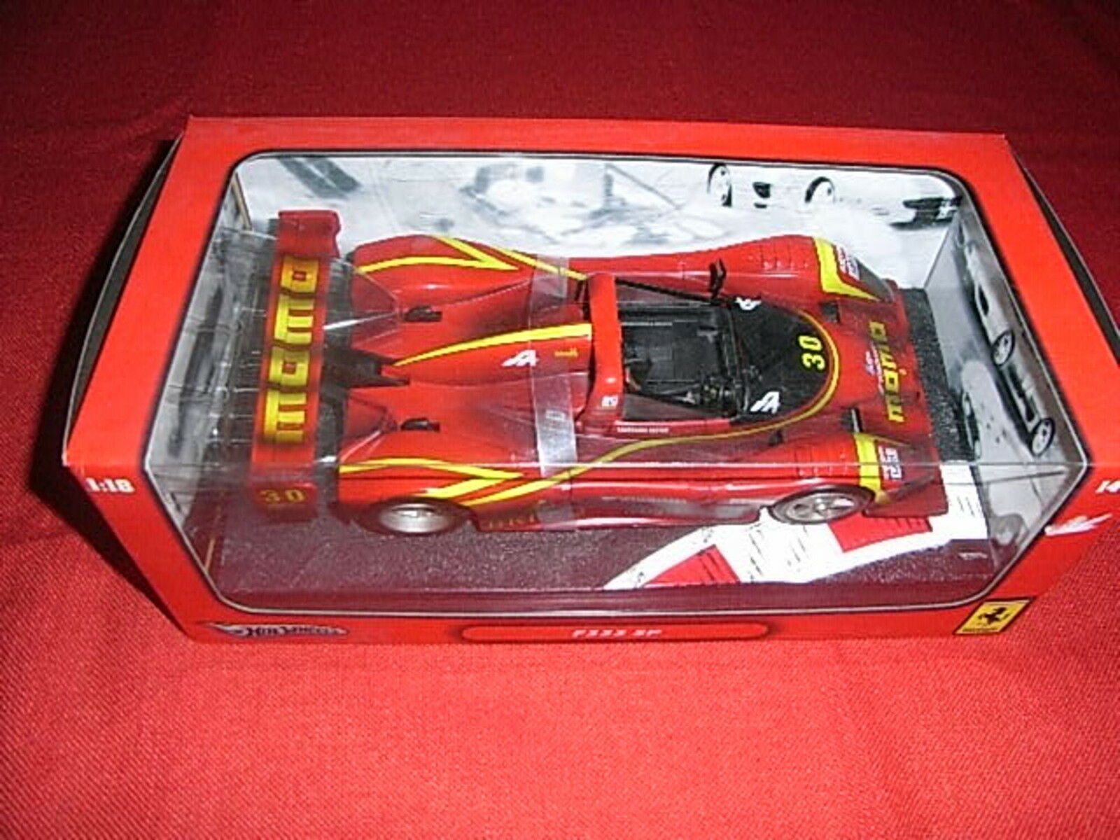 HOT WHEELS ® k0231 1:18 f333 SP NUOVO OVP