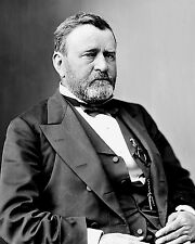 ULYSSES S. GRANT 18TH PRESIDENT OF THE UNITED STATES - 8X10 PHOTO (BB-066)
