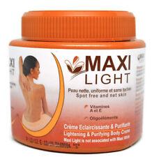Maxi Light Lightening and Purifying Body Cream 4.5 Oz Jar Creme Eclaircissante
