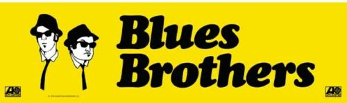 Blues Brothers   movie Akroyd Belushi 1980/'s Style   Bumper Travel Sticker decal