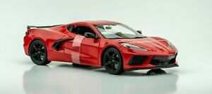 2020-Chevrolet-Corvette-Stingray-Coupe-1-18-Modelo-de-Coche-Maisto-Special-Edition-New