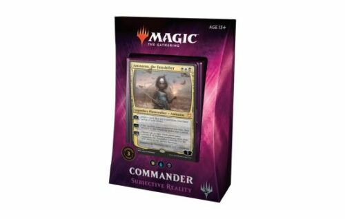 The Gathering 2018 Commander New Sealed Product 1x  Subjective Reality Magic