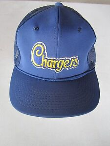 b76fe6a8cc502 Image is loading Vintage-San-Diego-Chargers-Sports-Specialties-Trucker-Mesh-
