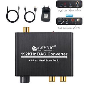 DAC-Convertitore-Volume-Regolabile-Adattatore-Audio-da-Coaxial-Toslink-Ottico