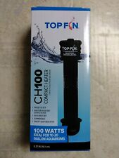 Top Fin Ch100 Compact Heater 6.37 in 100 Watts 10-20 Gallon 2852