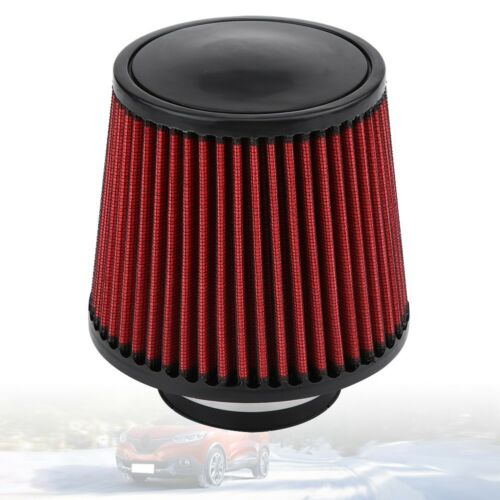 """Universal Car 3.0/"""" High Flow Short Inlet Air Intake Cone Air Filter Cleaner 76mm"""