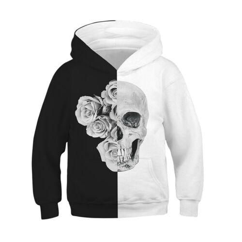 3D Print Kid Boy Girl Hoodie Pullover Funny Sweatshirt Hooded Casual Jumper Coat
