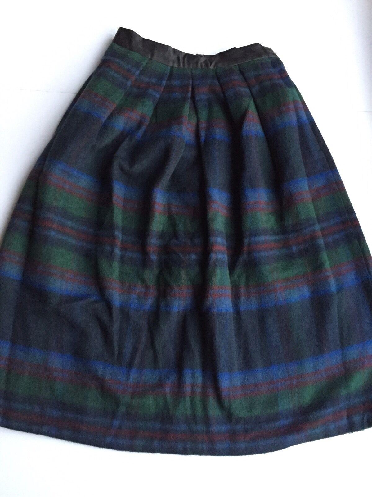 BNWOT ASOS Wool randig Long kjol Storlek