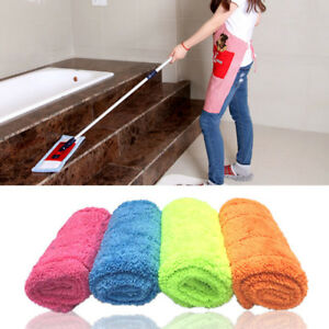 Details about Cleaning Pad Microfiber Mop Floor Dust Household Flat Refill  Tool Home