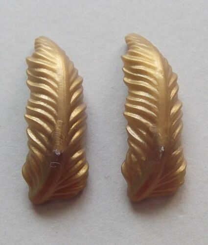 Zwei- und Drei- Spitz Hut 15992 2x Hut- Feder gold