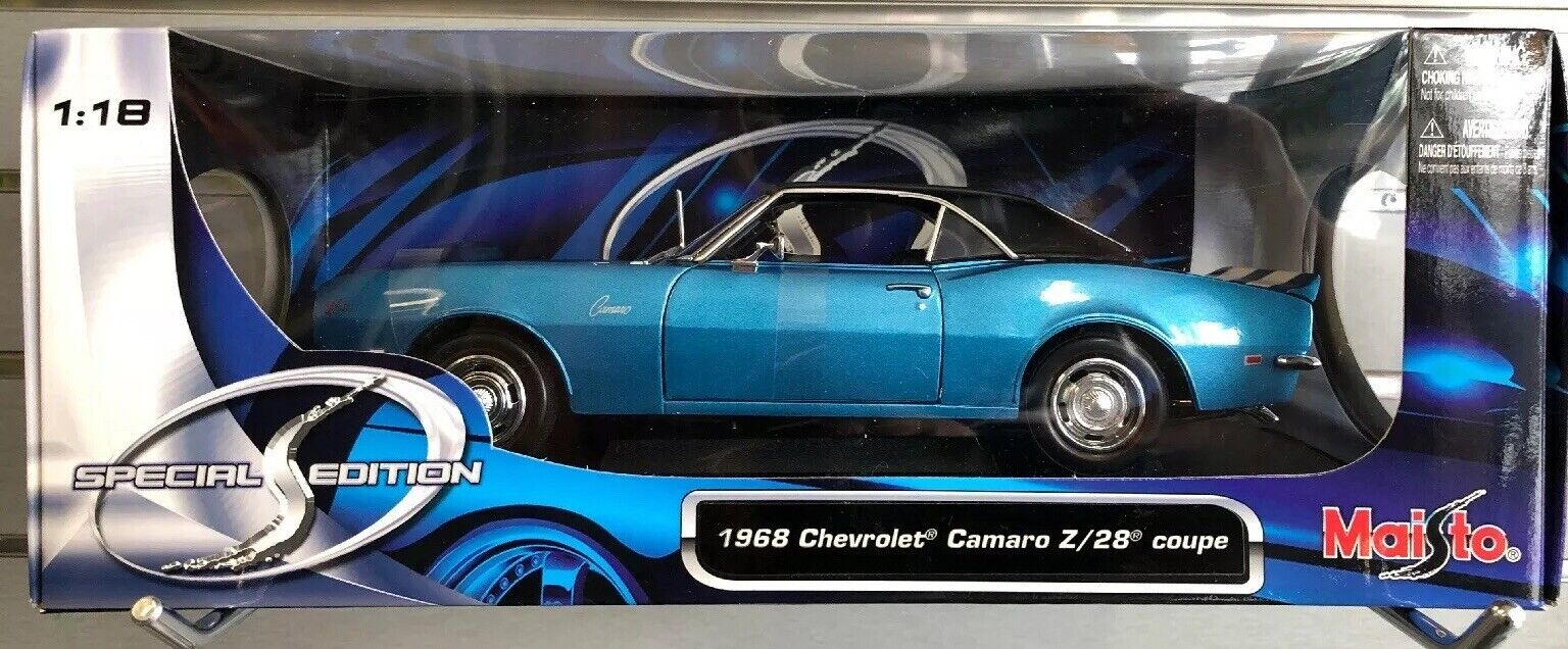 nuovi prodotti novità 1968 CHEVROLET CAMARO CAMARO CAMARO Z 28 1 18 MAISTO DIECAST modello  sconto prezzo basso