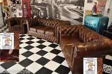 Chesterfields  de Luxe  3+2+1 Kombination E500 Vintage