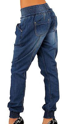 Jeans Pumpjeans Baggy Baggyhose Pump blau  34 36 38 40 42 Damenjeans Damen Hose