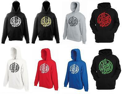 187 Strassenbande Logo Hoodie schwarzweiß L | real