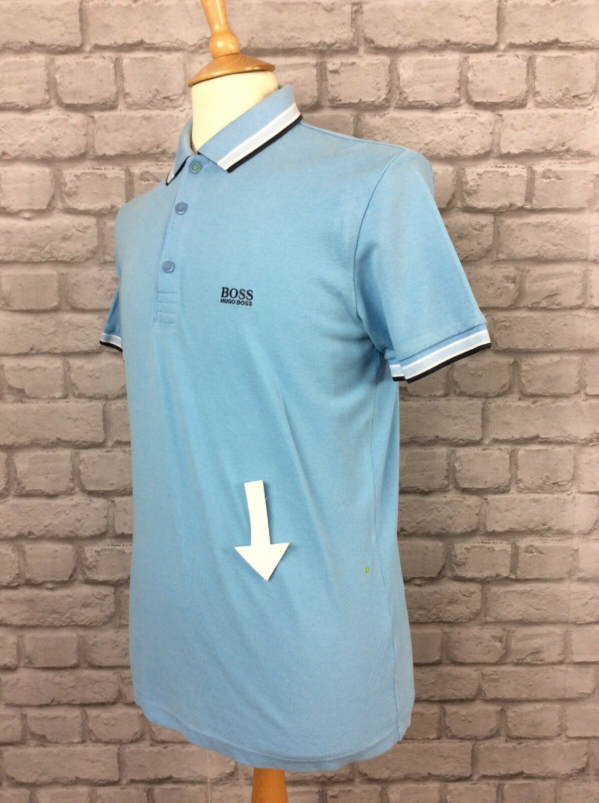 BOSS HUGO BOSS MENS UK UK UK M MODERN FIT Blau SHORT SLEEVE POLO SHIRT DESIGNER CASUAL | Attraktive Mode
