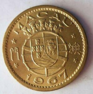 1967-Macau-10-Avos-Coleccion-Moneda-Ganga-Bin-179