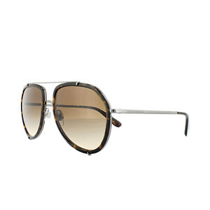 0a09653f0b Details about Dolce and Gabbana Sunglasses 2161 04 13 Havana Gunmetal Brown  Gradient