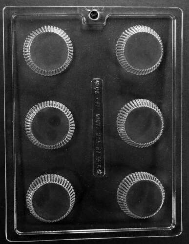 Peanut Butter Cup Chocolate Candy Soap Mold with Instructions