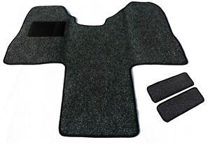 /& 3-Sitzer  Baujahr ab 2014 Autoteppich Fußmatte Fahrerhaus für Ford Transit 2