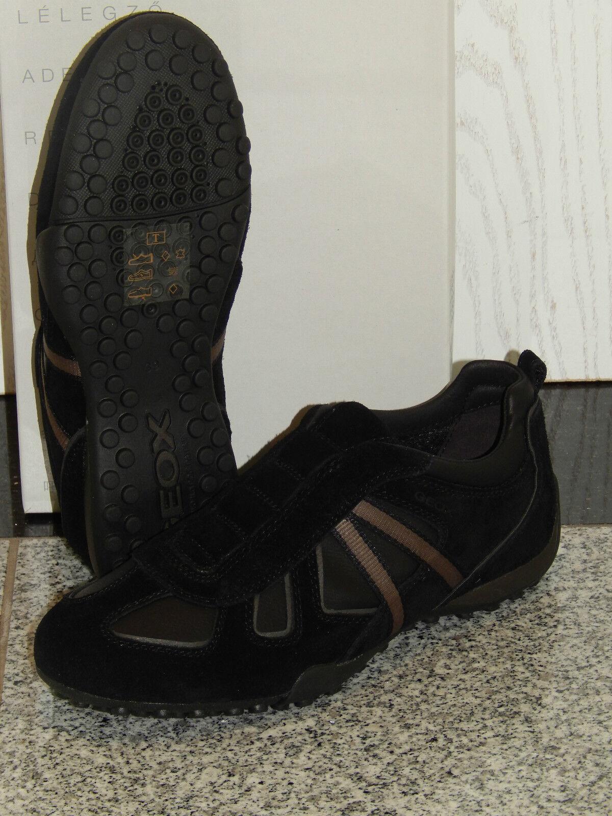 Geox U Snake Y  Sneaker Freizeit  atmungsaktiv  Leder  Slipper