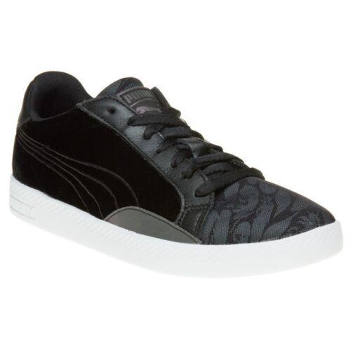 con Swan deporte mujer cordones Zapatillas Velvet Match de Puma Black para corte de nPxgnOXq