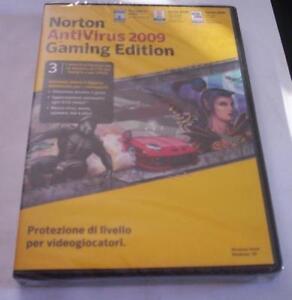Quality Norton Antivirus 2009 Gaming Edition New Original Superior In