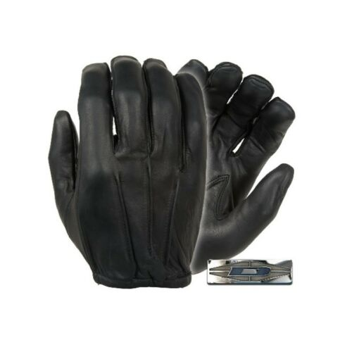 Damascus D20P Series Dyna-Thin Unlined Police Search Leather Gloves Size S-3XL