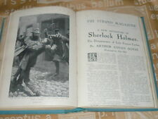 SHERLOCK HOLMES 1ST EDITION THE DISAPPEARANCE OF LADY FRANCES CARFAX. VOL XLII.