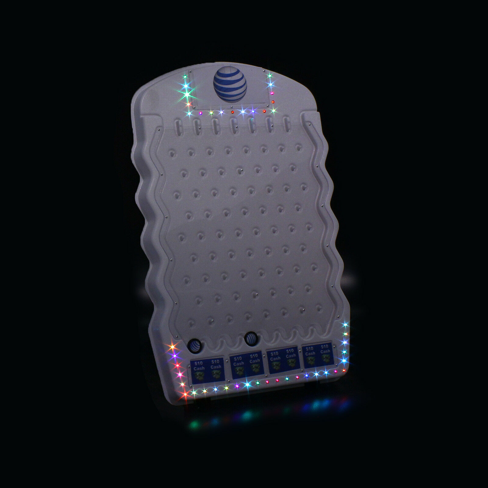 Mini bianca Plinko gioco with LED luci- Introductory Price  Limited Time Only