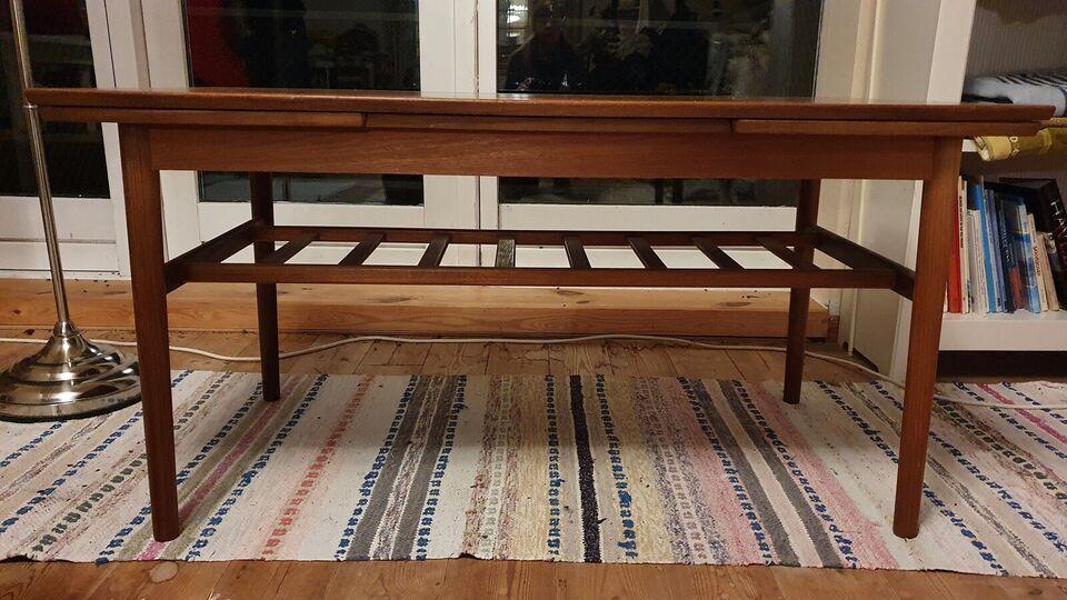 Sofabord, teaktræ, b: 57 l: 144