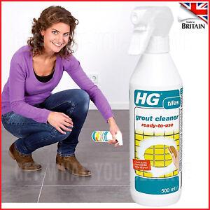 Hg Grout Cleaner Spray 500 Ml Tile, Bathroom Tile Grout Cleaner Uk