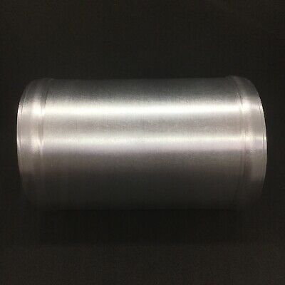 """57mm, 2.25/"""" Inch Intercooler Boost Swaged Polished Alloy Pipe 90 Degree"""