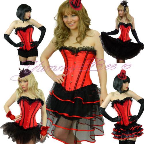 Burlesque Corset Tutu Fancy Dress Costume Plus Size 6 28 Moulin Can