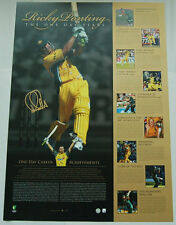 RICKY PONTING AUSTRALIA CRICKETER SIGNED ONE DAY YEARS LIMITED EDITION PRINT