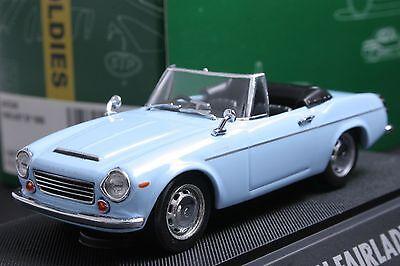 Datsun 1600 Roadster >> 1 43 Ebbro 43036 Datsun Fairlady Sp 1600 Light Blue Model Cars