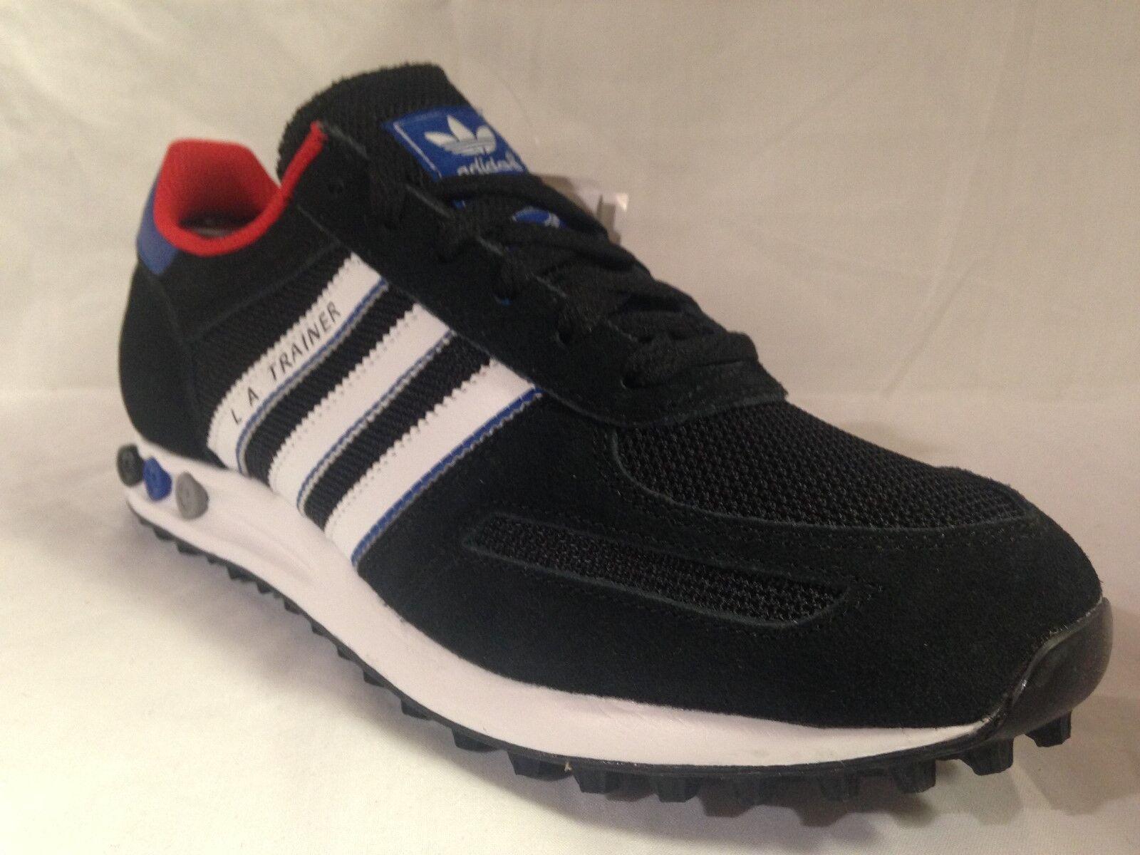 Adidas La Entrenador De Hombre Negro/Blanco/Royal AQ6793 tamaños _ 7 8.5 _ 7.5 _ 8.5 7 _ 10.5 add488