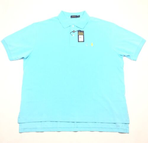 Polo Ralph Lauren Classic Mesh Interlock Short Sleeve Shirt New With Tags