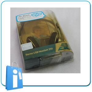Headset Headset for PC Computer Logitech 250 Skype USB