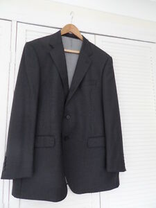 New-Men-039-s-M-amp-S-Charcoal-100-Wool-Jacke-Size-44ins-Chest-Med