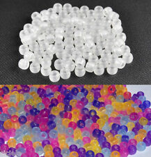 250pcs UV Magic Color Changing Pony Beads for Rainbow Loom DIY Bracelet Crafts