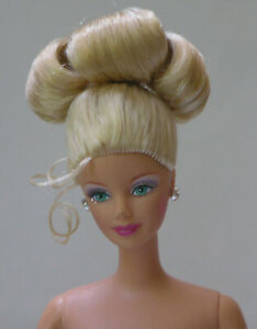 Are A real nude blond barbie