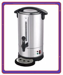 New Stainless Steel Hot Water Boiler Tea Urn Commercial Catering Cafe B&B AB0120