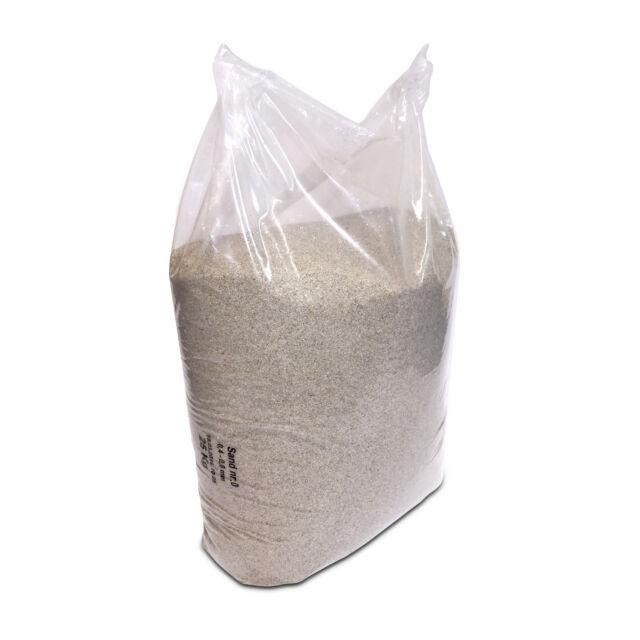 Quarzsand für Sandfilteranlage, 1 x 25kg Poolsand Filtersand 0,4 - 0,8