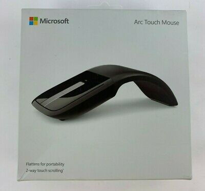 NEW MICROSOFT ARC TOUCH MOUSE BLUETRACK 2-WAY TOUCH SCROLLING .